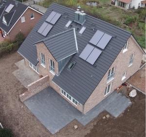 Baufortschritt unserer Doppelhäuser