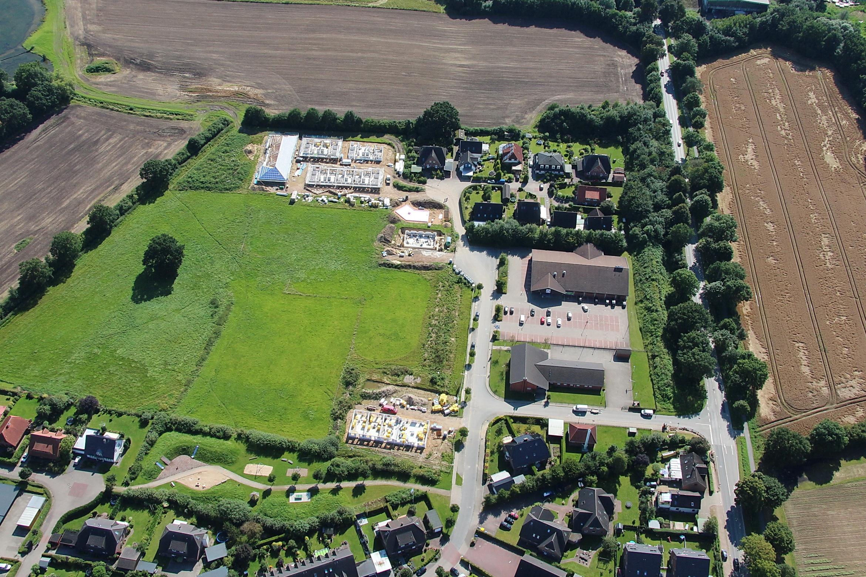 Die Bauarbeiten in Delingsdorf sind in vollem Gange!