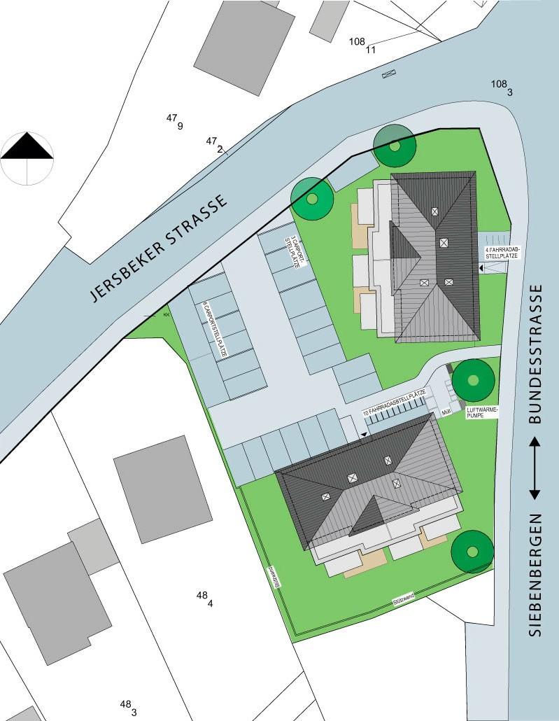 Bauvorhaben Kiek ums Eck in Elmenhorst